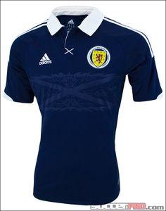 adidas Scotland Home Jersey 2012...$79.99