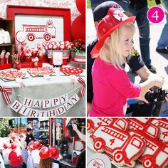 {Party of 5 Fridays} Girlie Firetruck // Hostess with the Mostess®