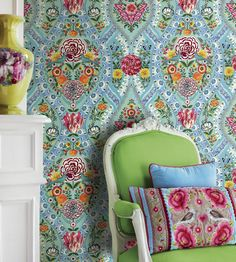 Melody Wallpaper by Brian Yates | Jane Clayton