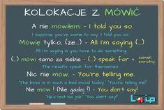 WHAT w pytaniach o nazwy, imiona itp. English Idioms, English Words, English Vocabulary, English Grammar, Education English, Teaching English, Learn Polish, Polish Language, Perfect English