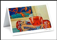 Card Matisse Henri Matisse Matisse Blank card Wine Card