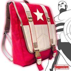 Captain America Youth Backpack School Rucksack Casual Teenager Daypack Book Bag  #BaggexStore #Backpack