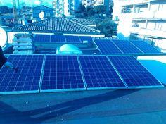 Impianto fotovoltaico ad OSIMO da 3,00 kWp su tetto piano - 11 moduli AXITEC in SILICIO POLICRISTALLINO da 265 Wp - UTILIZZO di OTTIMIZZATORI di POTENZA (SOLAREDGE)