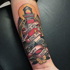 Adam Truarn: American traditional tattoos
