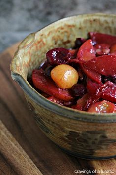 Stone Fruit Stir Fry | How to make an incredibly flavourful and simple dessert stir fry with stone fruits.