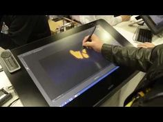 How to Create a Fire Brush in Adobe Photoshop with a Wacom Tablet - YouTube