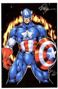 Captain America - Billy Tucci