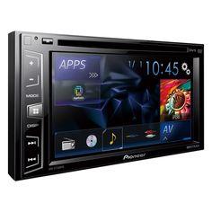 """Pioneer AVH-X1750DVD 6.2"""" Double Din DVD / CD / USB AV Receiver MIXTRAX"""