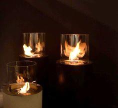 Planika at the Temporary Museum For New Design, Superstudio Più. www.planikafires.com  Ethanol Fireplace