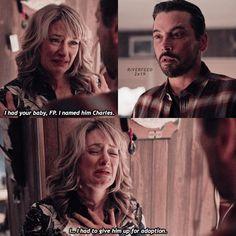 Riverdale ❤️ Season 2 Ep 19  Alice & FP Falice 💗
