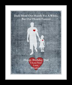 Gifts For Dad Birthday, Custom Fathers Day Gifts, Unique Christmas Present, Gift From Daughter To Fa Fathers Day Presents, Fathers Day Crafts, Gifts For Father, Birthday Presents, Gifts For Him, Happy Birthday Dad, Personalized Gifts For Dad, Cute Names, Dad Jokes