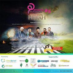 Event yang Paling ditunggu setiap Tahun Hadir lagi nih siap diserbu!! AmazingMuharram V  JEJAK-JEJAK HIJRAH  Dihadiri 2500 peserta se-Jabodetabek&Bandung!  Event kali ini akan menghadirkan : Ust Yusuf Mansur Ust Fatih Karim Ust Abi Makki Ust Asep Supriatna Saptuari Marcell siahaan  DAPATKAN GRAND PRIZE UMROH  Minggu 2 Oktober 2016 Jam 07.30-12.00 WIB  Ballroom Balai Sudirman Jln. Dr. Sahardjo Tebet Jaksel 7 Tiket : Reguler Rp 150rb/orang Fasilitas: Snack  VIP Rp 250rb/orang Fasilitas: 1…