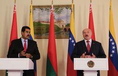 Los presidentes de Venezuela, Nicolás Maduro y de Bielorrusia, Aleksandr Lukashenko sostuvieron un encuentro en el Palacio de Gobierno ubicado en Minsk