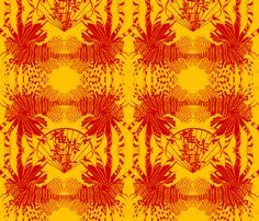 Lion Fish_on_Gold .. These repeats can be made much smaller at the click of a button.. please just ask ;-)