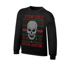 Stone Cold Steve Austin 3:16 WWE Ugly Christmas Mens Sweater Sweatshirt in Clothes, Shoes & Accessories, Fancy Dress & Period Costume, Fancy Dress | eBay