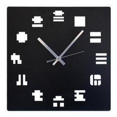 [和と融合のデザインのウォールクロック]壁掛け時計 鋼の匠 KANSU-JI (漢数字)