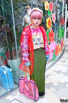 #80's Harajuku  street fashion