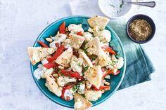 Lekkere salade om mee te nemen of gewoon lekker thuis in het zonnetje te eten.- Recept - Allerhande