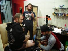 TATTOO FANS GR: Bloodcube Studio Tattoo στο Ηράκλειο Κρήτης
