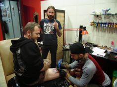 TATTOO FANS GR: Bloodcube Studio Tattoo στο Ηράκλειο Κρήτης