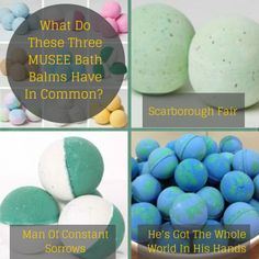 What do these three bath balms have in common?