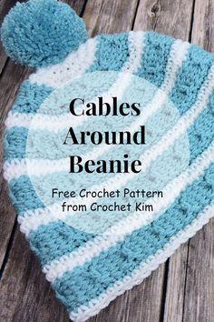 #free #crochetpatterns #crochetkim #forhats #beanie