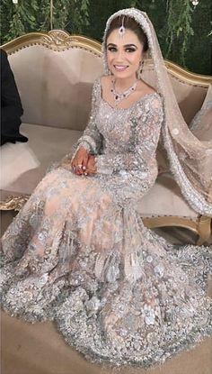 Latest Bridal Dresses, Asian Wedding Dress, Pakistani Wedding Outfits, Asian Bridal, Wedding Dresses For Girls, Bridal Outfits, Hijabi Wedding, Indian Bridal Lehenga, Pakistani Wedding Dresses