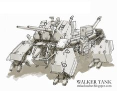 Walker Tank by *MikeDoscher on deviantART