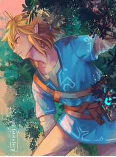The legend of Zelda The Legend Of Zelda, Legend Of Zelda Breath, Princesa Zelda, Fanarts Anime, Anime Manga, Anime Guys, Image Zelda, Link Botw, Hyrule Warriors