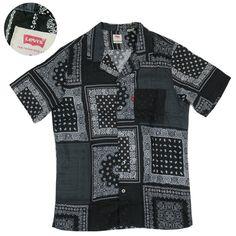 Levi's リーバイス 半袖 シャツ CUBANO SHIRT 72625 -JOE- San Francisco, Button Down Shirt, Men Casual, Mens Tops, Shirts, Fashion, Moda, Dress Shirt, Fashion Styles
