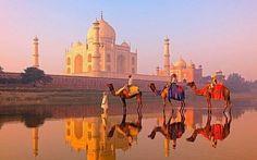 Тадж Махал, Индия / Путешествие с комфортом