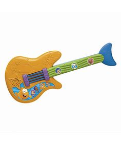 Take a look at this Fin-tastic Toy Guitar by Bubble Guppies on #zulily today!