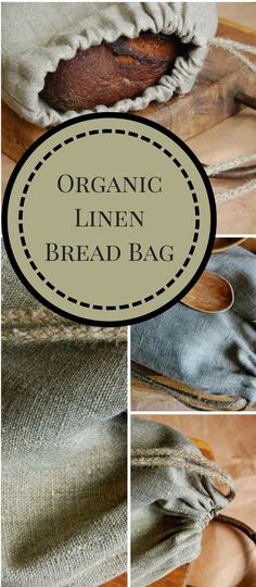 Do you love rustic artisan bread? This natural linen bread bag with flax draw s. Do you love rustic artisan bread? This natural linen bread bag with flax draw string will let your Personalized Products, Personalized Gifts, Bread Bags, Kitchen Tools And Gadgets, Artisan Bread, Diy Home Improvement, Beautiful Gifts, Natural Linen, Cool Gifts