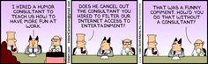 Dilbert - Consultants