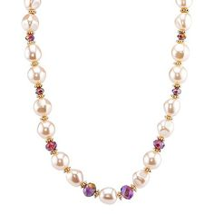1928 Simulated Pearl Necklace
