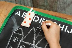 Jo-Ann Fabric and Craft Stores: Make a Roll-Up Chalkboard Mat with Rachel Faucett