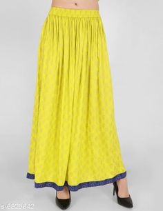 Checkout this latest Skirts Product Name: *Trendy Women's Skirts  * Sizes:  28, 30, 32, 34, 36 Country of Origin: India Easy Returns Available In Case Of Any Issue   Catalog Rating: ★4 (303)  Catalog Name: Stylish Glamorous Women Skirts CatalogID_1089388 C79-SC1040 Code: 223-6825642-957