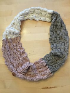 Ravelry: Bee323's Gathered scarf