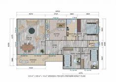 123 M² Tek Katlı Evler