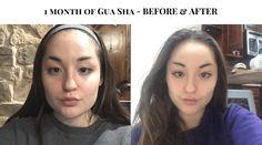 I tried Gua-Sha for 1 month and here is what happened - Tasty Teaspoon Mircoblading Eyebrows, How To Do Facial, Chiseled Jawline, Gua Sha Facial, Beauty Care, Beauty Tips, Beauty Hacks, Beauty Stuff, Diy Beauty