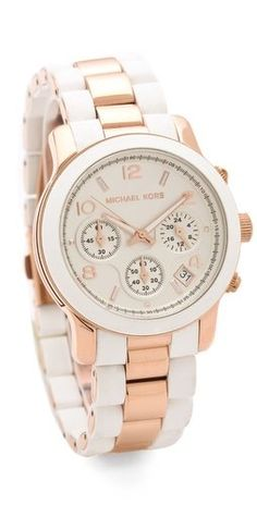Michael Kors Runway Time Teller Watch: --- OOOhhhh I likey!