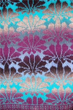 Aade Long Yarn - beautiful long strands of self striping yarn