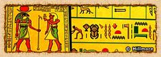Egyptian mathematics and Numbers Hieroglyphs