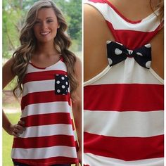 {Preorder} America Tank Top Red/White/Navy ❤ liked on Polyvore featuring tops, shirts, tank tops, t-shirts, tanks, navy tank top, navy blue tank top, white top, navy blue shirt and red tank