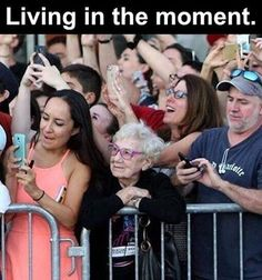 Life before phones...