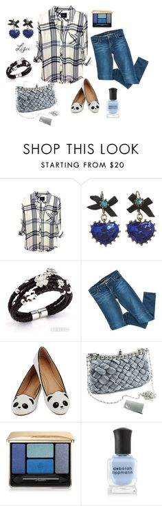 """True Believer"" by coolmommy44 ❤ liked on Polyvore featuring Rails, Betsey Johnson, Bardot, Guerlain and Deborah Lippmann"
