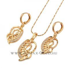 Delinda szett - Zomax Gold divatékszer www. Personalized Items, Bracelets, Gold, Jewelry, Bangle Bracelets, Jewellery Making, Jewerly, Jewelery, Jewels