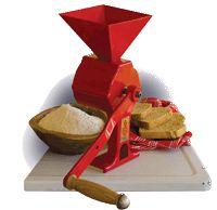 how to make a grain crusher