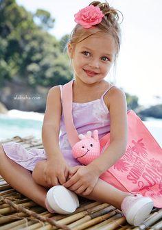 ALALOSHA: VOGUE ENFANTS: United Colors of Benetton Summer 2015 girls collection