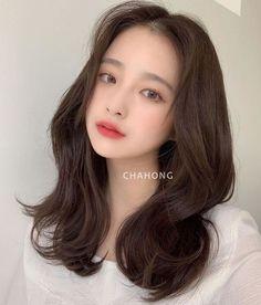 Hair Inspo, Hair Inspiration, Korean Beauty, Hair Cuts, Angel, Hairstyles, Skin Care, Long Hair Styles, Lady